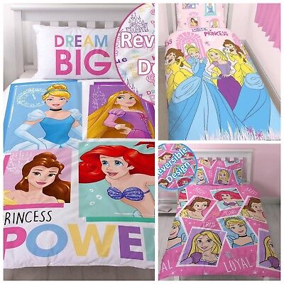 Disney Princess Boulevard Brave Girls Bedding Set Single Duvet Rapunzel Cinders