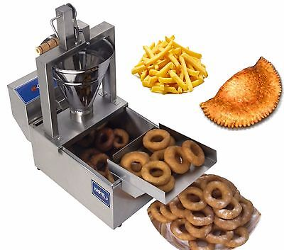 New Electrical 3 in 1 DONUT FRYER machine 120 pcs/h 220V Commercial or Home use