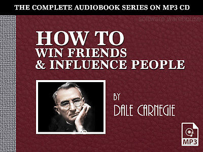 Dale Carnegie - How to Win Friends and Influence People - MP3 Audiobook on CD