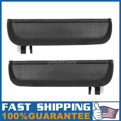 Exterior Front Left LH Right Side Door Handle Pair For 1995-1998 TOYOTA TERCEL