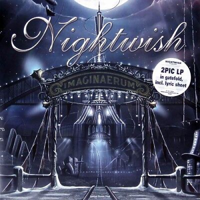 NIGHTWISH - Imaginaerum / Vinyl 2LP (Limited Edition · Gatefold 2-Picture Disc)