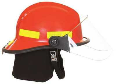 Fire Helmet,Red,Modern FIRE-DEX 911H713