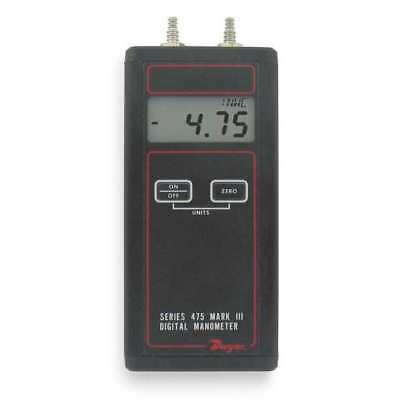 DWYER INSTRUMENTS 475-1-FM Handheld Manometer, 0 to 20.00 In WC