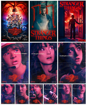 Stranger Things Poster Option Print TV Series Show A3 A4 BUY 1 GET 2 FREE