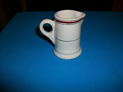 Antique Hotel Restaurant Ware Individual Creamer L. Barth & Son NY Made in Eng.