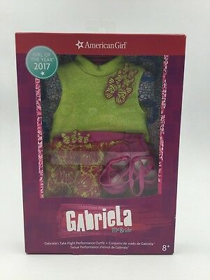 American Girl Gabriela's Take Flight Performance Outfit for 18-inch Dolls *New*
