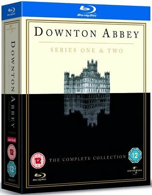 Blu Ray DOWNTON ABBEY the complete series 1 one & 2 two. 5 discs. New sealed.