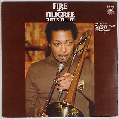 CURTIS FULLER: Fire and Filigree USA Bee Hive BH 7007 Jazz Bop Sam Jones LP NM-