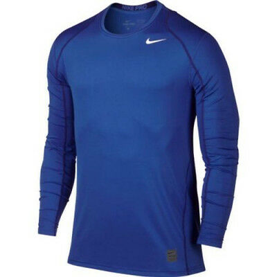 NWT Nike Men's PRO Cool Fitted Long Sleeve Shirt Size S XL 2XL 703100