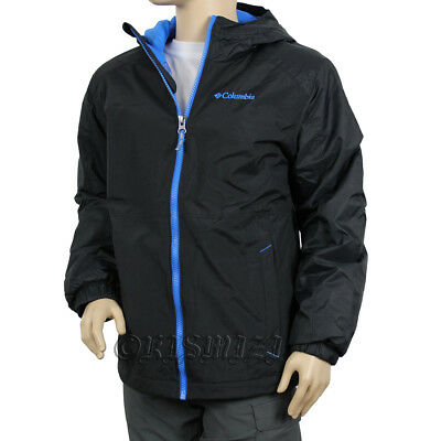 "New Boys Columbia ""Snowpocalyptic"" Thermal Coil Insulated Winter Jacket Coat"