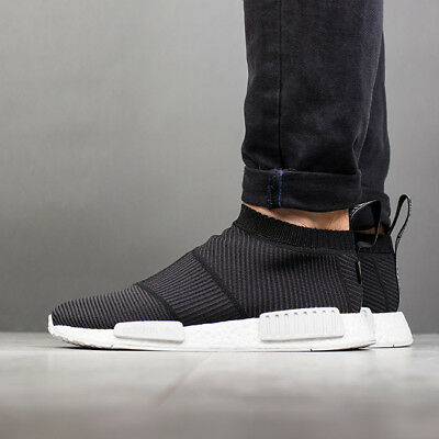 9245bb4d1cd7b ADIDAS NMD CS1 size 12.5. Black White. BY9405. Gortex. Primeknit Pk ...