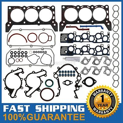 "Cylinder Head Gasket kit For Ford F150 Econoline 4.2L V6 OHV 12V VIN ""2"" 97-98"