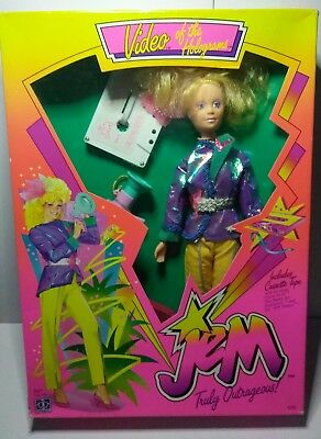 """Jem and the Holograms""""Video"""" Doll 1986- Brand New in Sealed Box!!"""