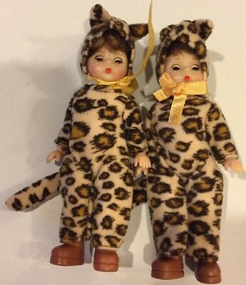 Lot Of 2 Mcdonald's Madame Alexander Leopard Dolls