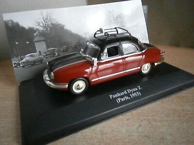 VOITURE 1/43 IXO ALTAYA PANHARD DYNA Z TAXI G7 1953  collection taxi