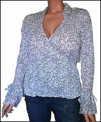 White 3X  Women's Plus Size Top Blouse Long Bell Sleeves NWT NEW