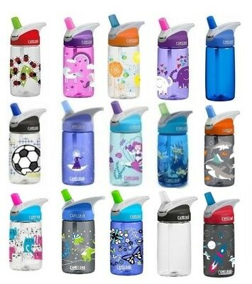 Camelbak Eddy Kids Spill Proof Drinking Bottle - Various Designs Drink Bottle