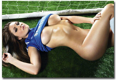 """Lucy Pinder Chelsea Babe Fridge Magnet Collectible Size 3.5"""" x 2.5"""""""