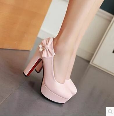 Customized large size single shoes 44 45 46 47 yards large size high heels with
