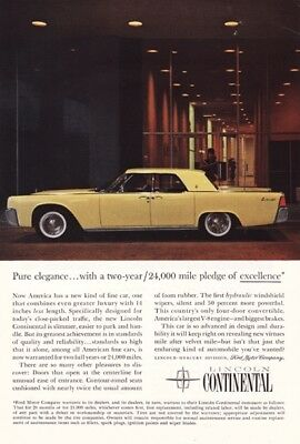 Ford Lincoln Continental 1960's - Vintage Ads # 214