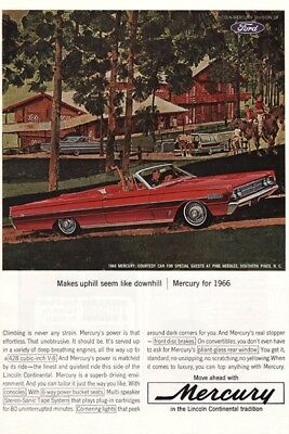 Ford Mercury Convertible 1966 - Vintage Ads # 37