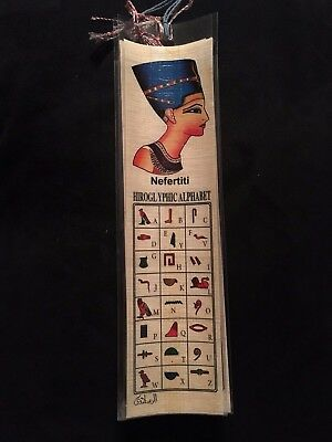BOOKMARKS: Ancient Egypt bookmarks with hieroglyphics BRAND NEW