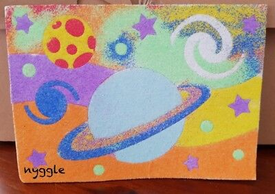 Outer Space Solar System Sand Art Children's Kids Craft Kit Student Rewards