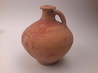 Ancient Roman Terracotta Jug Pottery 1 - 2 C AD