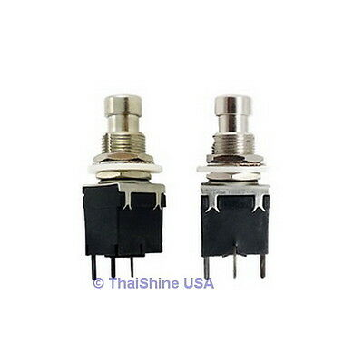 1 x 1P2T SPDT Momentary Stomp Foot / Pedal Push Button Switch PCB - USA SELLER