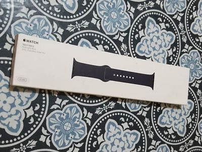 Apple Watch Sport Band 42Mm Midnight Blue Stainless Steel Pin Mll02Zm/a New 316L