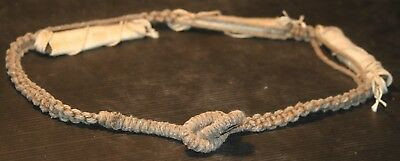 Thai good luck TAKRUD woven magic BELT protection old vintage antique AUTHENTIC