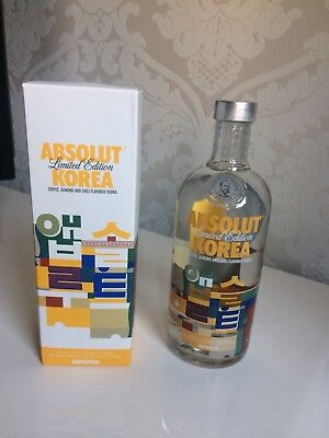 Korea Limited Edition!! Vodka Absolut