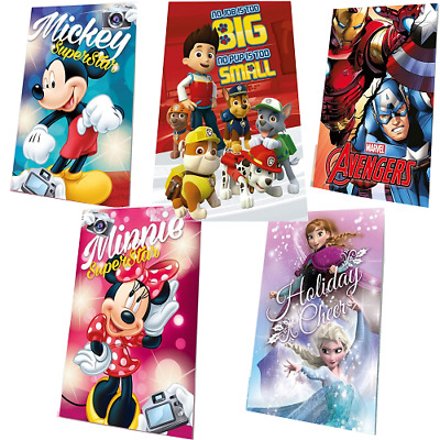 Disney Fleecedecke Kinder Decke Coral Fleece Paw Patrol Minnie Frozen Mickey
