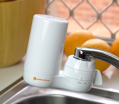 Benchtop On Tap Washable Ceramic Two Stages Water Filter