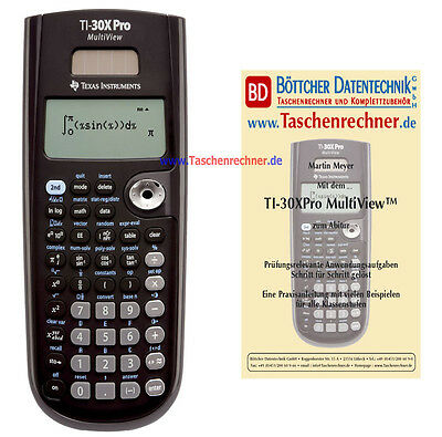 Texas Instruments TI 30 Xpro Multiview + Fachbuch