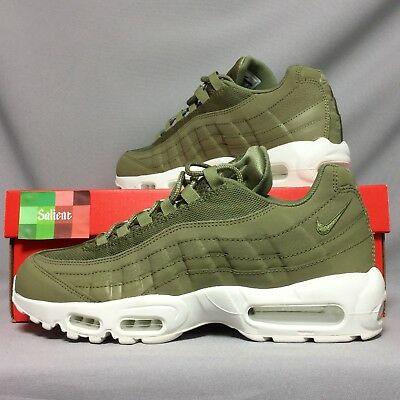 timeless design 0b98b a86ad ... discount code for nike air max 95 uk9 749766 201 trooper green white  eur44 us10 army
