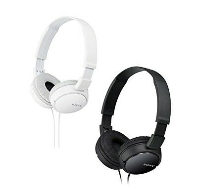 Genuine Sony MDR-ZX110 Stereo / Monitor Over-Head Headphones