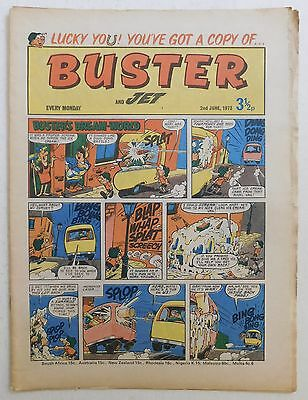 BUSTER and JET Comic - 2nd June 1973