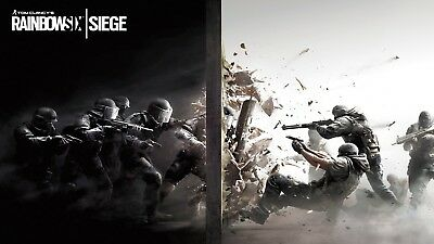 Tom Clancy's Rainbow Six Siege Game Wall Art Poster T940