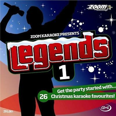 Zoom Karaoke Legends Volume 1 CD + G New Sealed