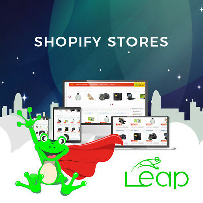 Shopify store creation with unlimited support
