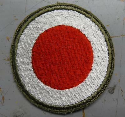 Ww2 37Th Infantry Division Patch - Green Back - Od Border  #usp2559