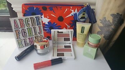 Bundle of 6 Estee Lauder & Clinique GWP Products - DayWear, Eye Cream, Gloss New