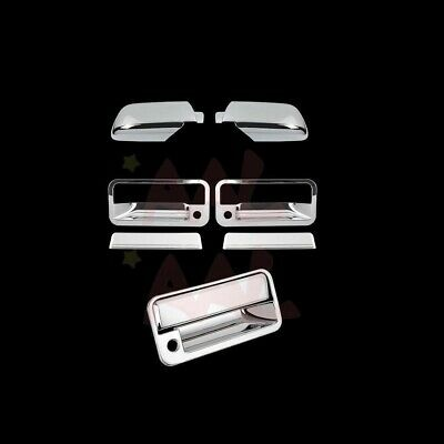 AAL FOR CHEVY 95-98 TAHOE 4 DOOR HANDLE W//O PSKH 2PC MIRROR CHROME COVERS