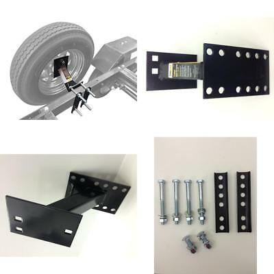 Wheel Mount Spare Tire Boat &Amp; Utility Enclosed Trailer Bracket Carrier
