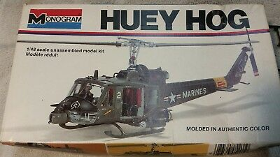 Monogram Huey Hog 1/48 scale model kit #5201 USMC