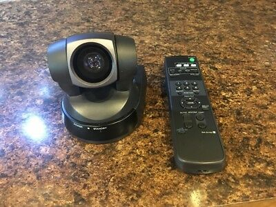 Sony EVI-D100 Color Video Conference / Surveillance Camera W/ Remote