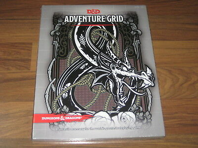 D&D 5th Edition RPG Adventure Grid Accessory Wizards Of The Coast New Sealed
