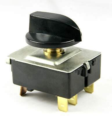 Rotary Switch 4 Positions for Air Conditioner 20A/130VAC 60Hz 5 Pin