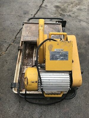 2hp Professional Tile Saw Model 60010 Used Good Condition